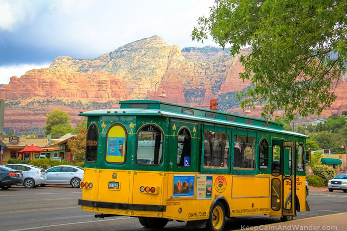 Sedona Trolley Tour.