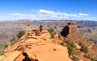 South Kaibab Hiking Trail / Recommended Hiking Trails at the Grand Canyo.