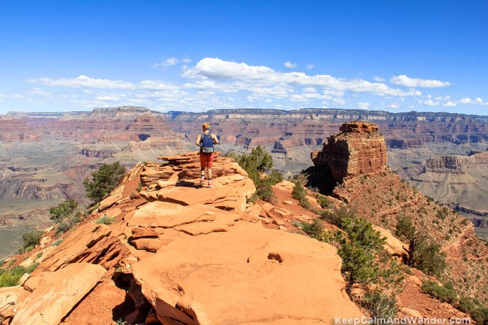cedar Ridge South Kaibab Hiking Trail / Recommended Hiking Trails at the Grand Canyo.