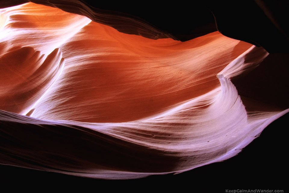 Antelope Canyon in Page, Arizona.