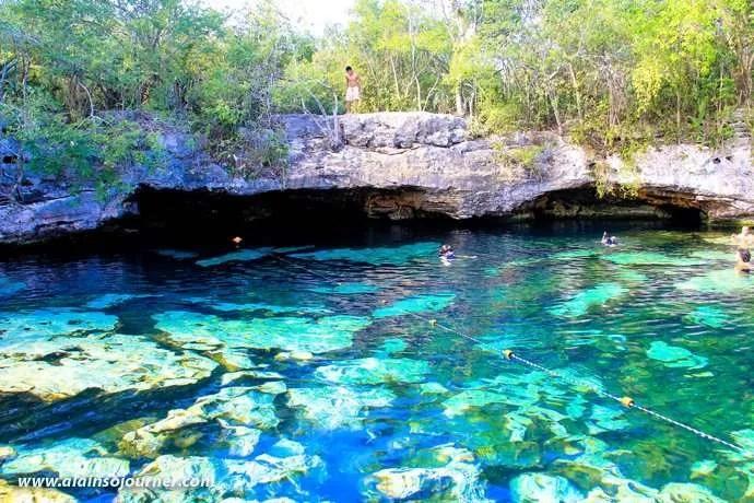 Cenote Azul Tulum Mexico Riviera Maya 12