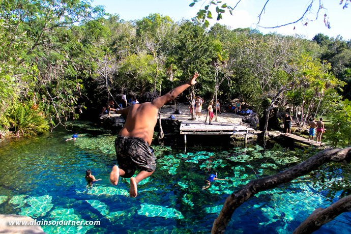 Cenote Azul Tulum Mexico Riviera Maya 16