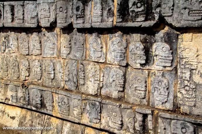 Chichen Itza Pyramid Mexico Kukulkan Cancun Tulum 11