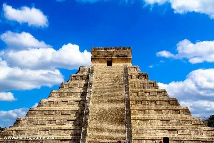 Chichen Itza Pyramid Mexico Kukulkan Cancun Tulum 2