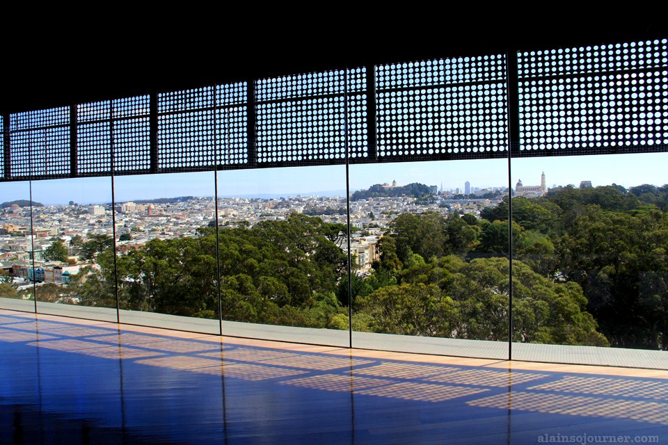 San Francisco Panorama / Skyline from De Young Museum