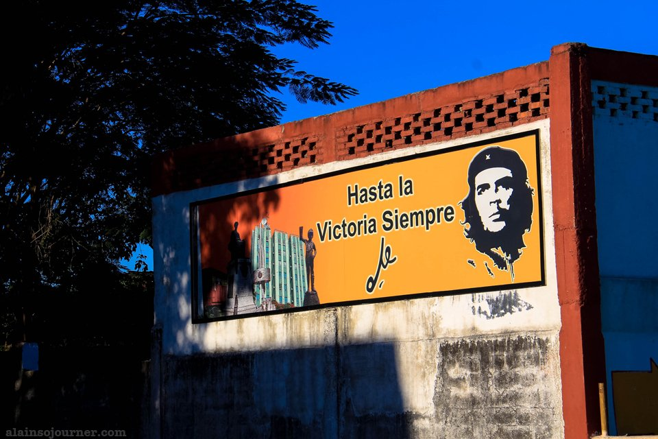Che billboard in Santa Clara