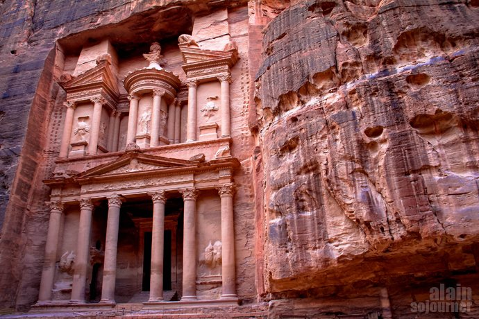 The Amazing Petra in Jordan