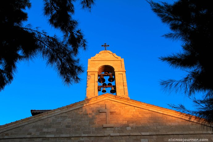St. George Church in Madaba, Jordan.