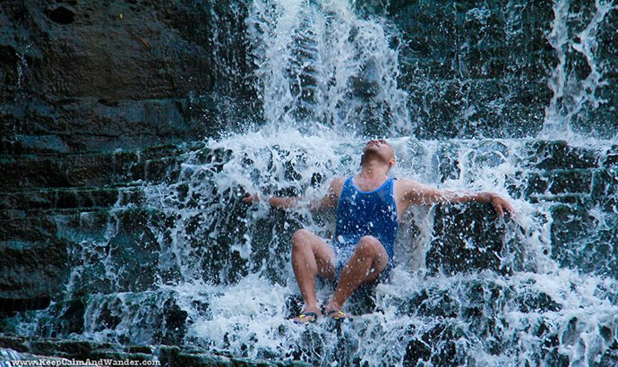 10 Day Trips from Toronto: Get Wet at Albion Falls!