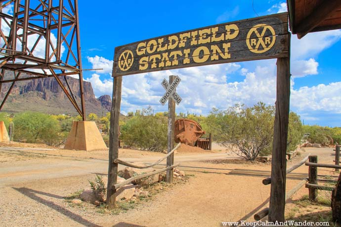 Go Time Traveling at Goldfield Ghost Town in Phoenix, Arizona.