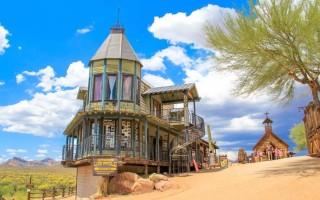 Goldfield Ghost Town, Phoenix, Arizona.