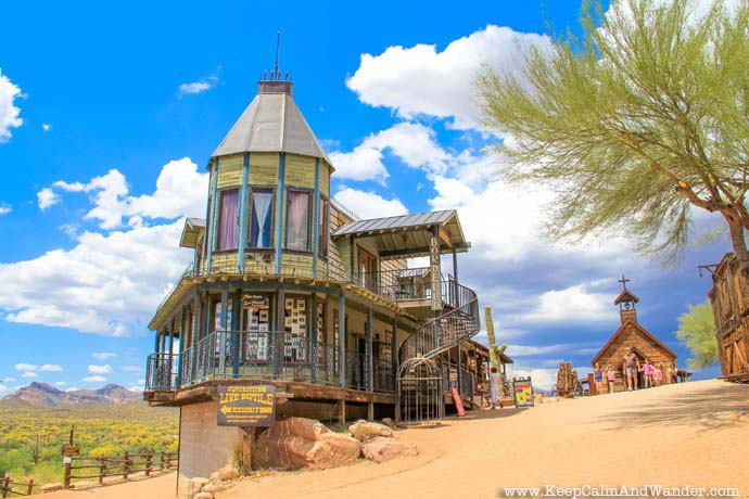Goldfield Ghost Town, Phoenix, Arizona.