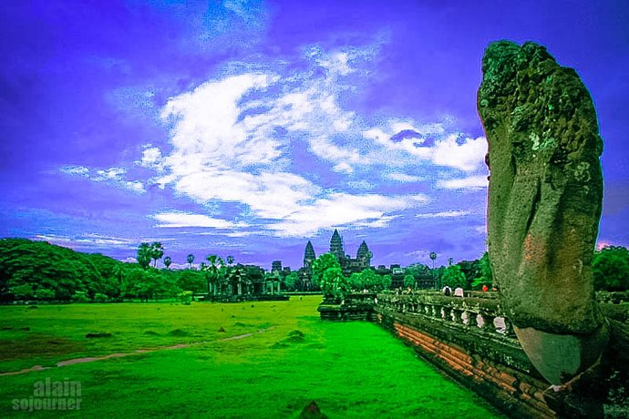 Angkor Wat is the Center of the Universe
