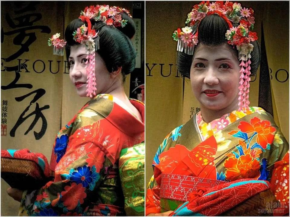 Portraits of a Geisha