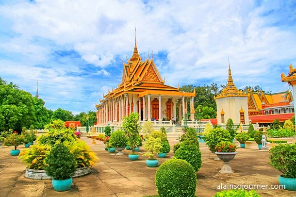 Grand Royal Palace Phnom Penh Cambodia 16