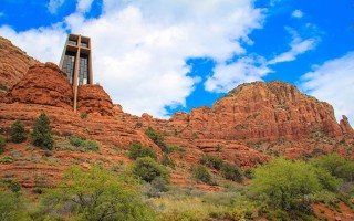 Chapel of the Holy Cross in Sedona, Arizona.