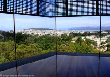 View from De Young Museum.