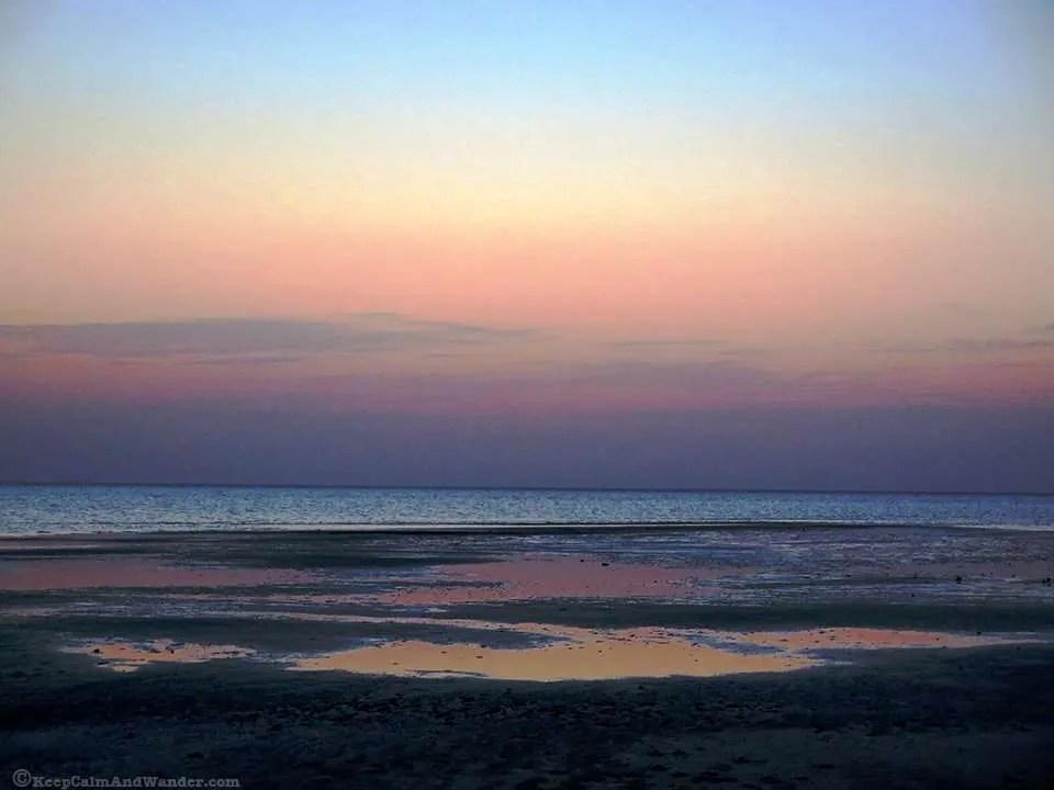 Red Sea Sunset (Saudi Arabia).