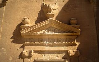 Qasr Al Bint has the largest tomb facade at Madain Saleh (Saudi Arabia).