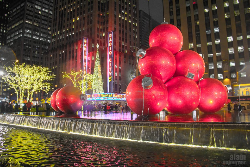 Christmas in New York.