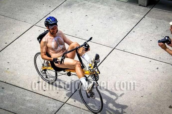 2013 World Naked Bike Ride Toronto WNBR
