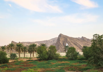 Jabel Hafeet / Jabel Jafeet / Jabal Hafeet is a massive mountain in Al Ain, UAE.