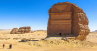 Al Fareed at Madain Saleh, Saudi Arabia.