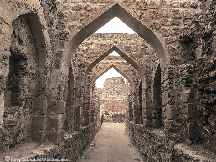 Bahrain Fort is your window to the country's historical past.