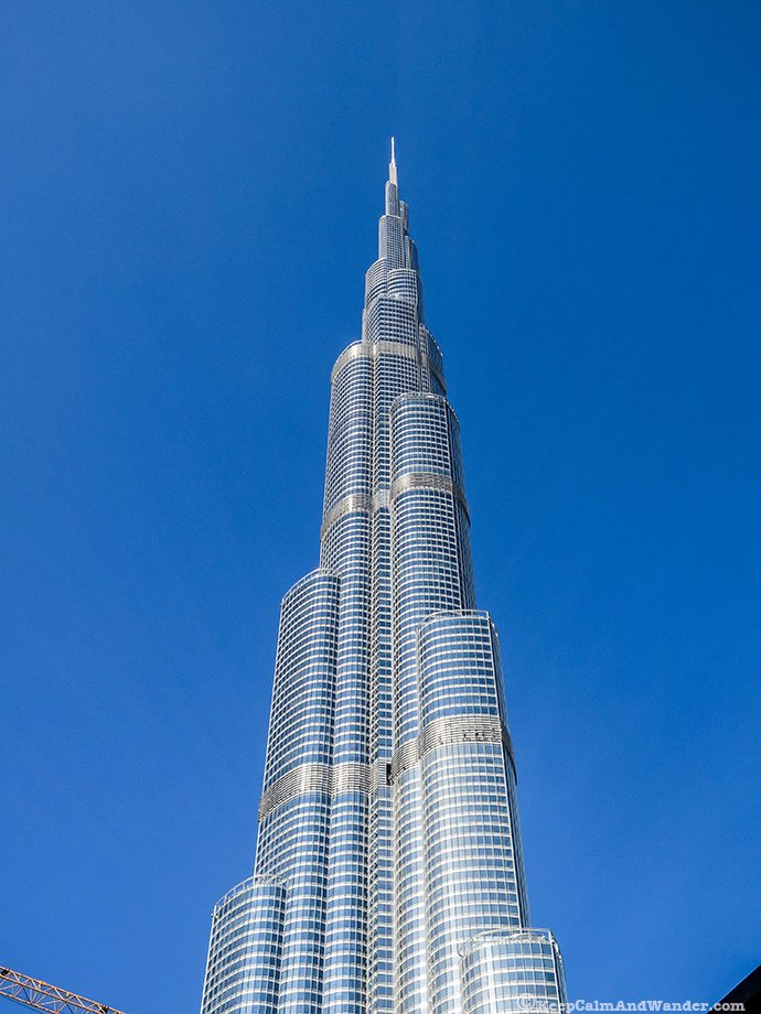 Burj Dubai Khalifa is the building with most floors!
