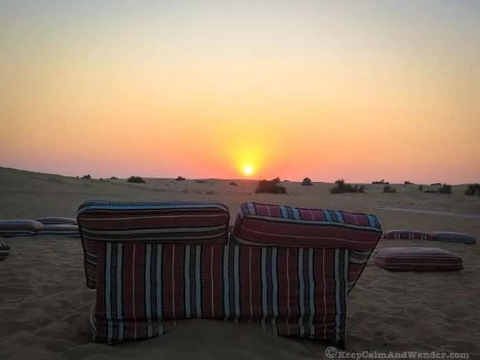 Desert Sunset, Dubai, UAE.