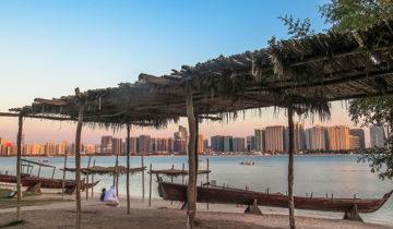 Heritage Village in Abu Dhabi, UAE.