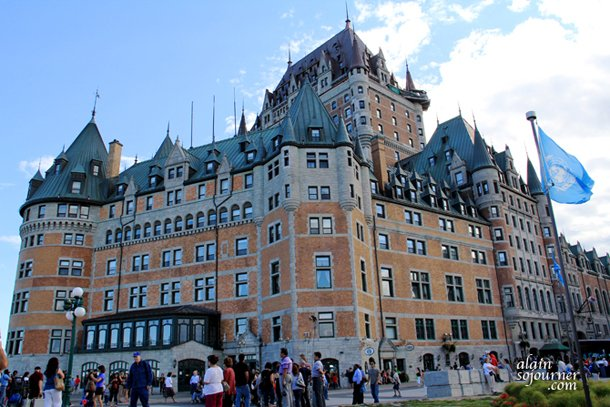 Chateau Frontenac is the setting of Alfred Hitchcock