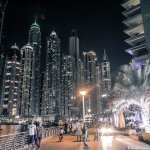Photos: Dubai Marina at Night