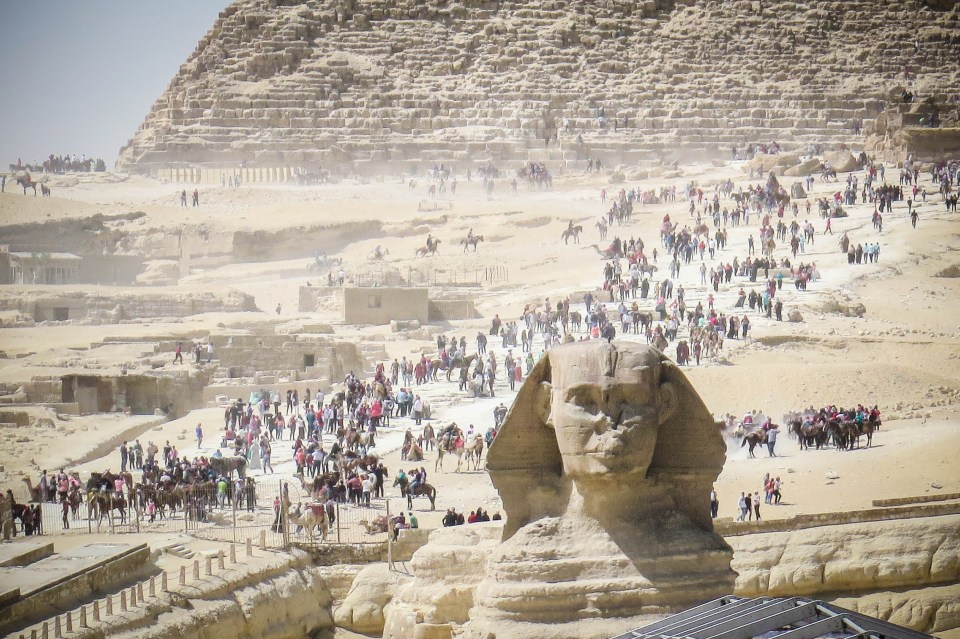 How to Explore the Pyramids of Egypt on Foot.