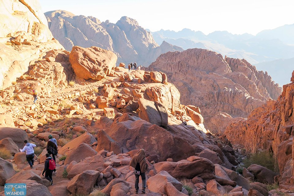 The Steps of Repentance in Mt Sinai