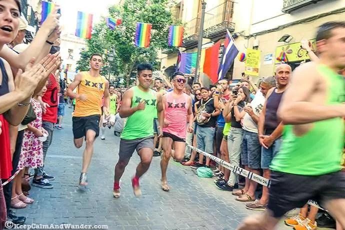 Carrera de Tacones 2016 Madrid Orgullo (MADO)