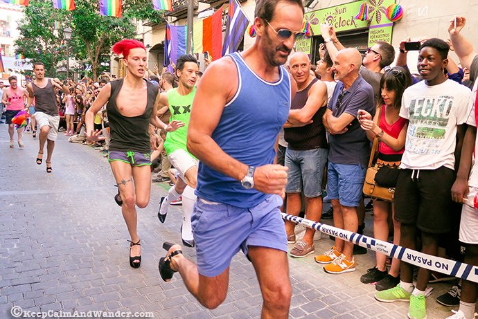 2016 Carrera de Tacones Madrid Orgullo (MADO)
