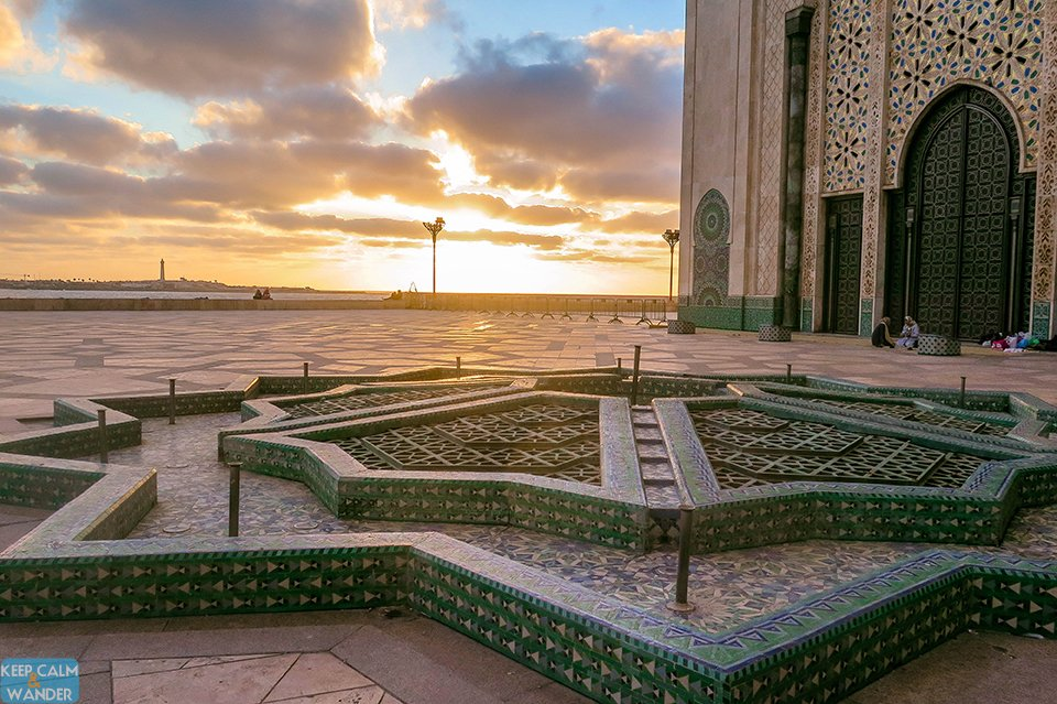 Casablanca's sunset is breathtakingly gorgeous.