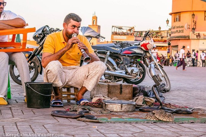 The Sights, Sounds and Tastes of Jemaa el-Fna (Marrakesh, Morocco).