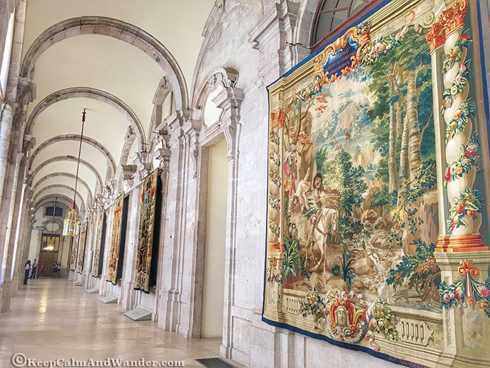 Don Quixote Tapestry at Palacio Real