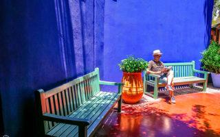 Majorelle Garden - Here Lies Yves St Laurent (Marrakech, Morocco).
