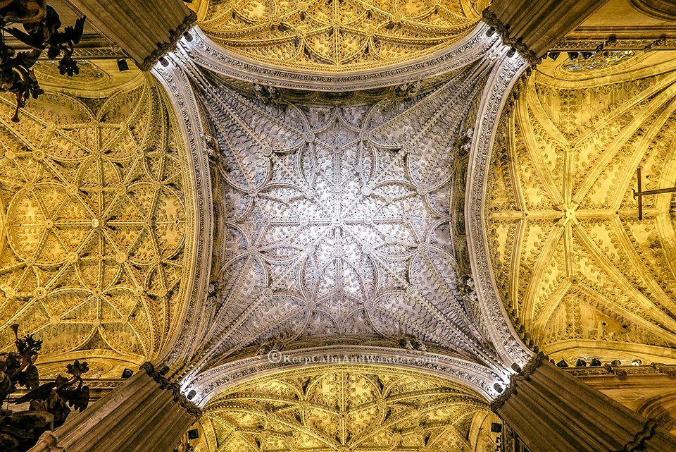 Sevilla Cathedral id the largest cathedral in the world. (Spain)