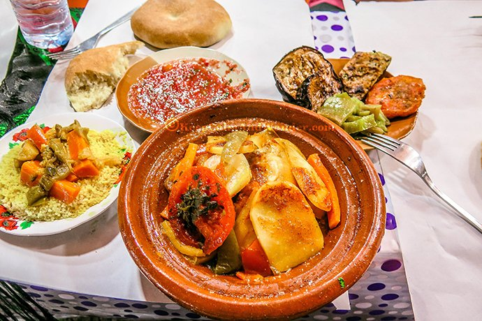 All the Moroccan Food I Ate in Morocco.