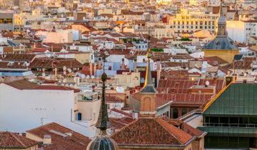 Madrid Sunset from Terrazas Circulo Las Bellas Artes.