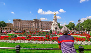 Buckingham Palace in London is the official residence of the Monarchy.