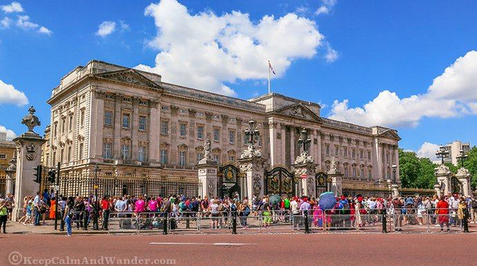 The Queen Was Nowhere When I Visited Buckingham Palace In