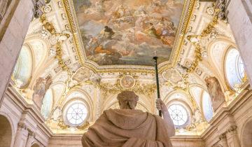 The Grand Staircase at Palacio Real (Royal Palace Madrid.