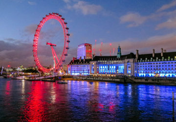 The Millennium Wheel is London's most-visited tourist attraction.