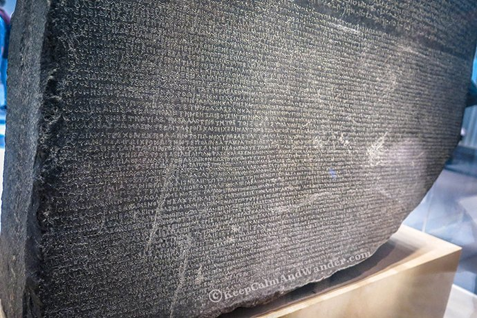 10 Things to See at the British Museum - Rosetta Stone