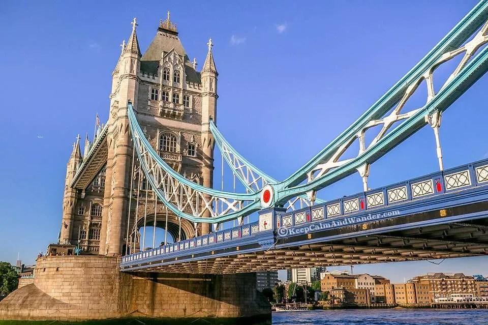 Tower Bridge is not The London Bridge I Imagined.